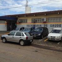 Photo taken at Secretaria Municipal de Saúde de Aparecida de Goiânia by Marcelo M. on 4/12/2013