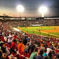 Photo taken at Estadio Gasmart by Toros de Tijuana on 7/8/2013