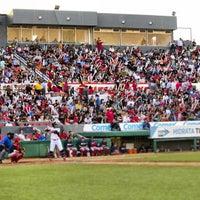 Photo taken at Estadio Gasmart by Toros de Tijuana on 7/7/2013