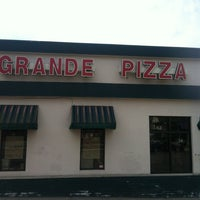 Photo taken at Grande Pizza by Thomas G. on 4/7/2013