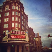 Photo taken at Orpheum Theatre by Timothy M. on 4/6/2013