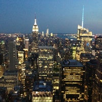 Photo prise au Top of the Rock Observation Deck par Евгений К. le6/22/2013