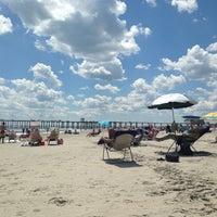 Photo taken at Ventnor Beach @ Derby Ave by Jennie L. on 8/4/2013