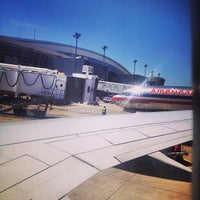 Photo taken at Gate D40 by Jessica L. on 3/30/2014
