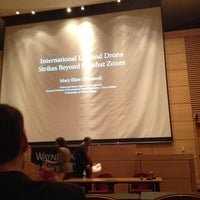 Photo taken at Wayne State University Law School by Dominic N. on 9/23/2013