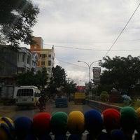 Photo taken at Jalan RW Monginsidi by Fidelia P. on 4/12/2013
