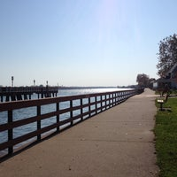 Photo taken at Bishop Park by Dave F. on 10/24/2012