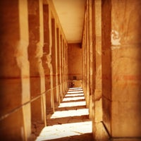 Photo taken at Mortuary Temple of Hatshepsut by Fernando J. on 7/15/2013