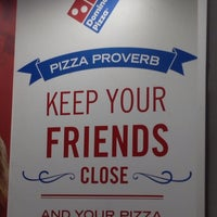 Photo taken at Domino's Pizza Centenario by andres k. on 7/8/2013
