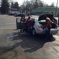 Photo taken at Montgomery Hills Car Wash by Erlie P. on 3/16/2013