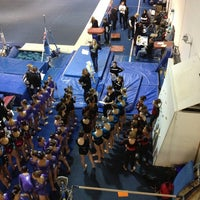 Photo taken at Northstars Gymnastics by Francis H. on 2/23/2013
