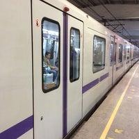 Photo taken at W. Yan'an Rd. Metro Stn. by Sergei K. on 4/30/2014