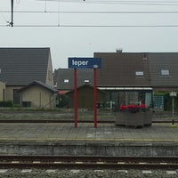 Photo taken at Station Ieper by Gille on 6/11/2013