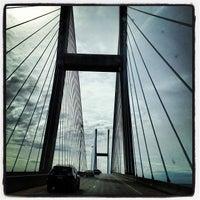 Photo taken at Sidney Lanier Bridge by Charly D. on 1/28/2013