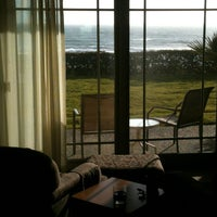Photo taken at Best Western Plus Cavalier Oceanfront Resort by M J. on 4/12/2013