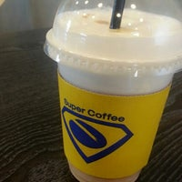Photo taken at Super Coffee by daniel O. on 5/15/2014
