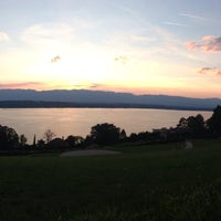 Photo taken at Cologny view by Mon.O on 6/19/2014