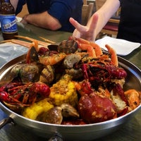 Photo taken at Crab Bucket by Joshua R. on 5/28/2014
