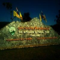 Photo taken at ศูนย์บริการนักท่องเที่ยว ดอยอินทนนท์ by Jakkawit T. on 3/11/2013