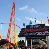 Photo taken at Intimidator 305 - Kings Dominion by Paul G. on 10/6/2012