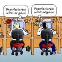 Photo taken at Şekerbank by merveeee 🎈 on 11/15/2016