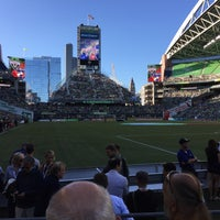Photo taken at Section 125 by Brad F. on 6/14/2015