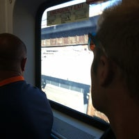 Photo taken at Newark Penn Station - Track 1 by Matthew W. on 5/31/2014