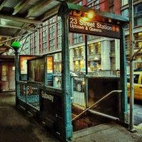 Photo taken at MTA Subway - 23rd St (F/M) by David D. on 3/28/2013