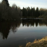 Photo taken at р.Селезневка by Слава К. on 5/3/2013