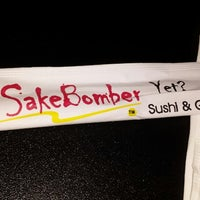 Photo taken at SakeBomber Sushi & Grill by Samra H. on 12/11/2013