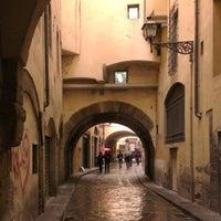 Photo taken at Via dei Georgofili by Alena T. on 2/27/2014