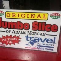 Photo taken at Jumbo Slice Pizza by Emmanuel B. on 5/20/2013