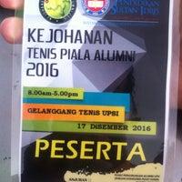 Photo taken at Tennis Court, UPSI by Azwan M. on 12/17/2016