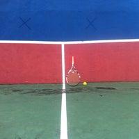 Photo taken at Tennis Court, UPSI by Azwan M. on 12/15/2016