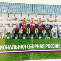 Photo taken at Российский футбольный союз by Алексей Е. on 9/14/2016