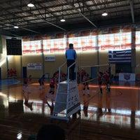 Photo taken at Κλειστό Γυμναστήριο Άργους by Charisa P. on 2/15/2015