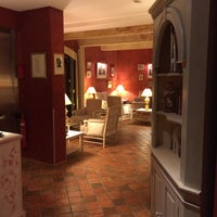 Photo taken at Hotel Du Poete Fontaine-de-Vaucluse by Nata G. on 9/29/2015