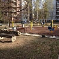 Photo taken at Спортивная Площадка by Y N. on 5/9/2013