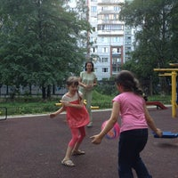 Photo taken at Спортивная Площадка by Y N. on 7/22/2014
