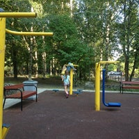Photo taken at Спортивная Площадка by Y N. on 7/28/2014