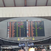 Photo taken at Venice Marco Polo Airport (VCE) by Valeria on 6/21/2013