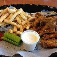 Photo taken at J. Buffalo Wings by Richard R. on 4/1/2013