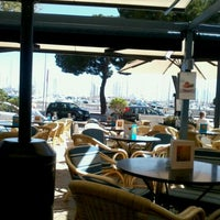 Photo taken at Cappuccino Paseo Maritimo by Tatiana S. on 4/12/2013