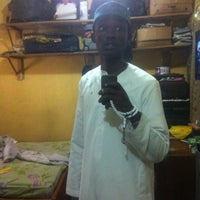 Photo taken at Unilag Central Mosque by Harunah A. on 5/3/2013