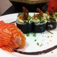 Photo taken at A3 Sushi by Thiago T. on 2/28/2013