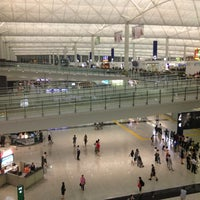 Photo taken at Hong Kong International Airport (HKG) by Nifika S. on 7/4/2013