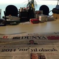 Photo taken at Panalpina World Transport İzmir Megapol Tower by Evren Y. on 12/6/2013