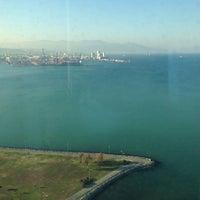 Photo taken at Panalpina World Transport İzmir Megapol Tower by Evren Y. on 12/18/2013