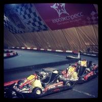 Снимок сделан в Forza Karting пользователем Maksim A. 6/11/2013