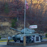 Photo taken at Knott County Veterans Memorial by Wes M. on 11/9/2013